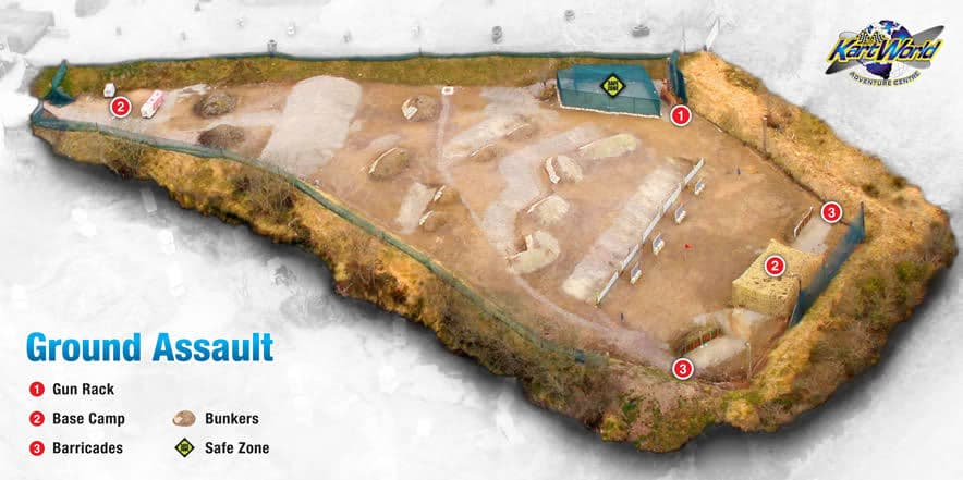 Ground Assault Paintball Arena